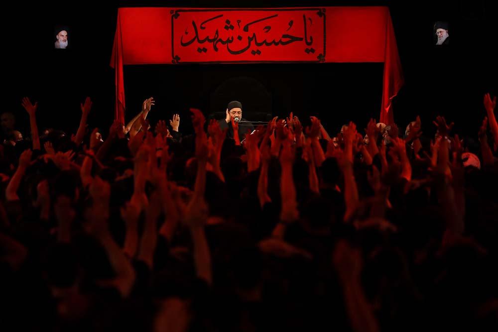 صوت  حاج محمود کریمی؛ شب نهم محرم ۹۷