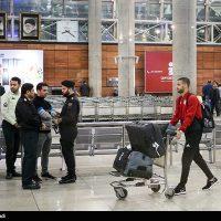 تصاویر بازگشت تیم ملی فوتبال ایران از جام ملتهای آسیا