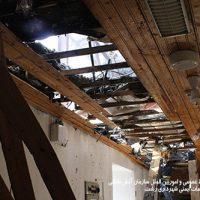 5 658 200x200 - تلاش ۴۹ آتش نشان در پی آتش سوزی سقف دبیرستان دخترانه در رشت