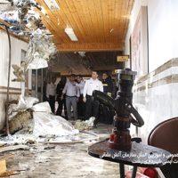 5 669 200x200 - تلاش ۴۹ آتش نشان در پی آتش سوزی سقف دبیرستان دخترانه در رشت