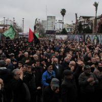 گزارش تصویری تجمع فاطمیون در پیاده راه فرهنگی رشت