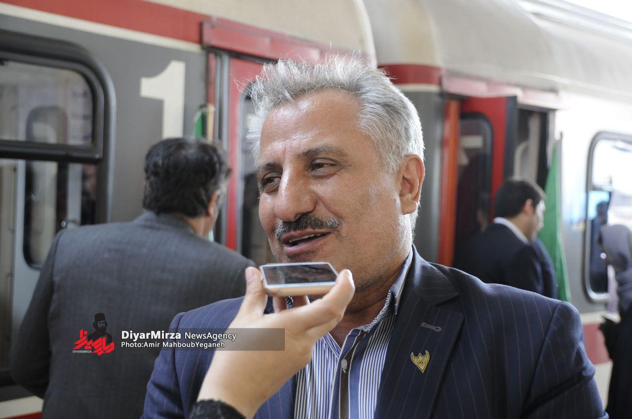 ساعت و روزهای قطار رشت – مشهد مشخص شد
