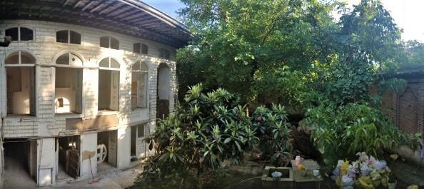 خانه تاریخی حنانی رشت توسط مالک خصوصی مرمت می شود